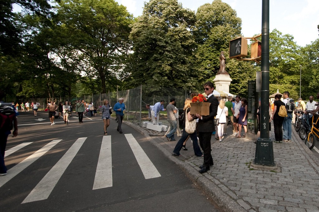 Central Park's crosswalks are too busy